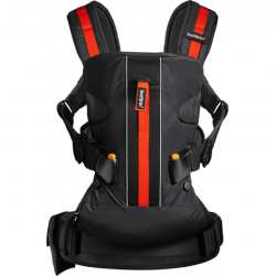 MOCHILA BABYBJORN ONE OUTDOORS-NEGRO