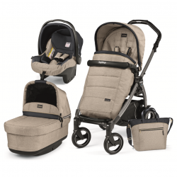 PEG PEREGO LUXE POP UP-LUXE BEIGEBOOK 51 S JET