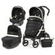 PEG PEREGO LUXE POP UP-LUXE BLUEBOOK 51 S WHITE BLACK