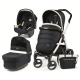 PEG PEREGO LUXE POP UP-LUXE BLUEBOOK S WHITE BLACK