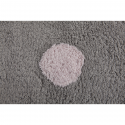 ALFOMBRA LORENA CANALS MESSY-TRICOLOR GRIS ROSA