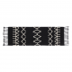 ALFOMBRA LORENA CANALS MESSY-BEREBER NEGRO80 X 230