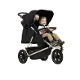 MOUNTAIN BUGGY +ONE-BLACK