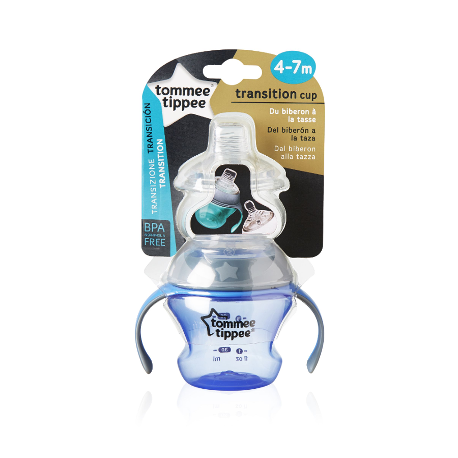 TAZA TOMMEE TIPPEE TRANSITION CUP-AZUL