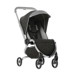 MIMA ZIGI silla de paseo en color charcoal, negro con detalles en gris.