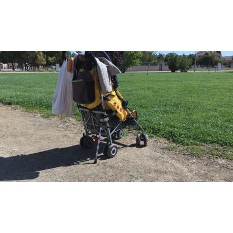 silla de paseo antivuelco