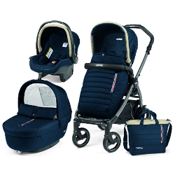 COCHECITO PEG PEREGO BREEZE ELITE-BOOK 51S JET BREEZE BLUE