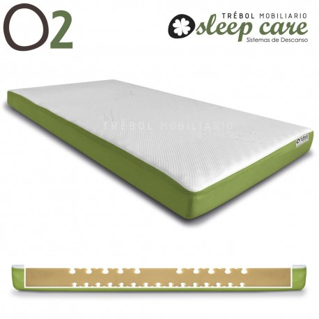 COLCHON CUNA SLEEP CARE S2 DE TREBOL