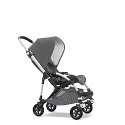 NUEVO DUO BUGABOO BEE 5 CLASSIC COLLECTION-GRIS MELANGE ALUMINIO