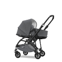 NUEVO DUO BUGABOO BEE 5 CLASSIC COLLECTION-GRIS MELANGE COMPLETO NEGRO