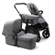 BUGABOO DONKEY 2 CLASSIC COLLECTION-MONO GRIS MELANGE CHASIS NEGRO