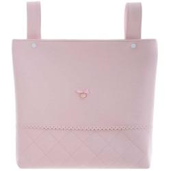 bolso talega tb02 pol de uzturre en el color rosa empolvado