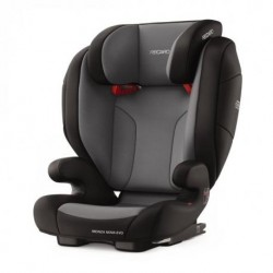 SILLA DE AUTO MONZA NOVA EVO SEATFIX-CARBON BLACK