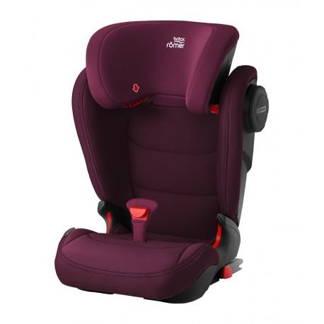 SILLA DE AUTO KIDFIX III M en color burgundy red, burdeos