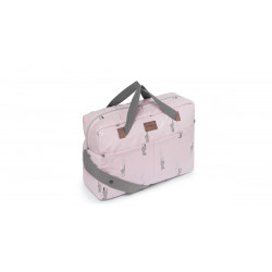 BOLSO MATERNAL SNOOPS ROSA...