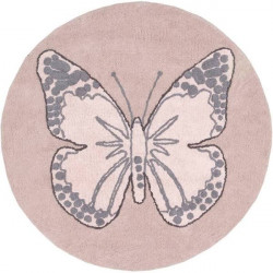 Alfombra butterfly vintage...