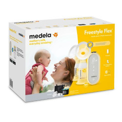 EXTRACTOR DE LECHE  FREESTYLE FLEX SWING MAXI - EXTRACTOR DOBLE MEDELA
