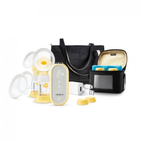 EXTRACTOR DE LECHE  FREESTYLE FLEX EXTRACTOR DOBLE MEDELA