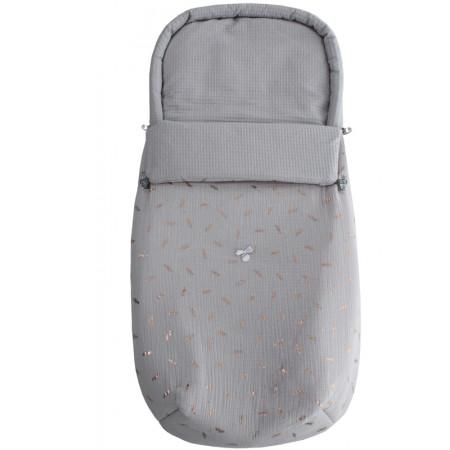 saco capazo 2 usos mafalda uzturre 5100 gris
