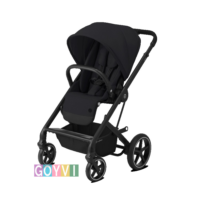 Silla balios s lux cybex chasis negro  deep black