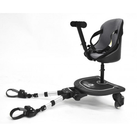 patin universal  roller plus con asiento carbebe