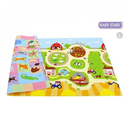 Alfombra de juego busy farm baby care