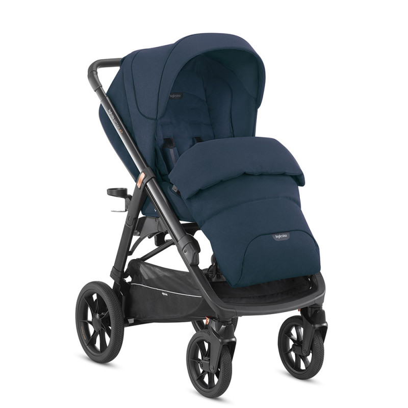 silla de paseo Aptica XT  horizon grey polar blue
