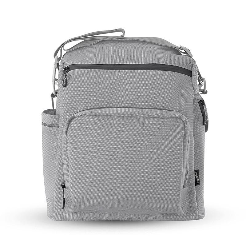 bolso adventure bag para aptica xt inglesina horizon grey, gris claro