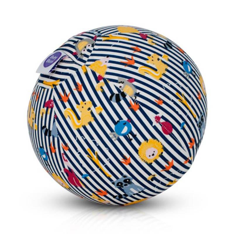 Funda para globos de Buba Bloon en el estampado animal stripes blue