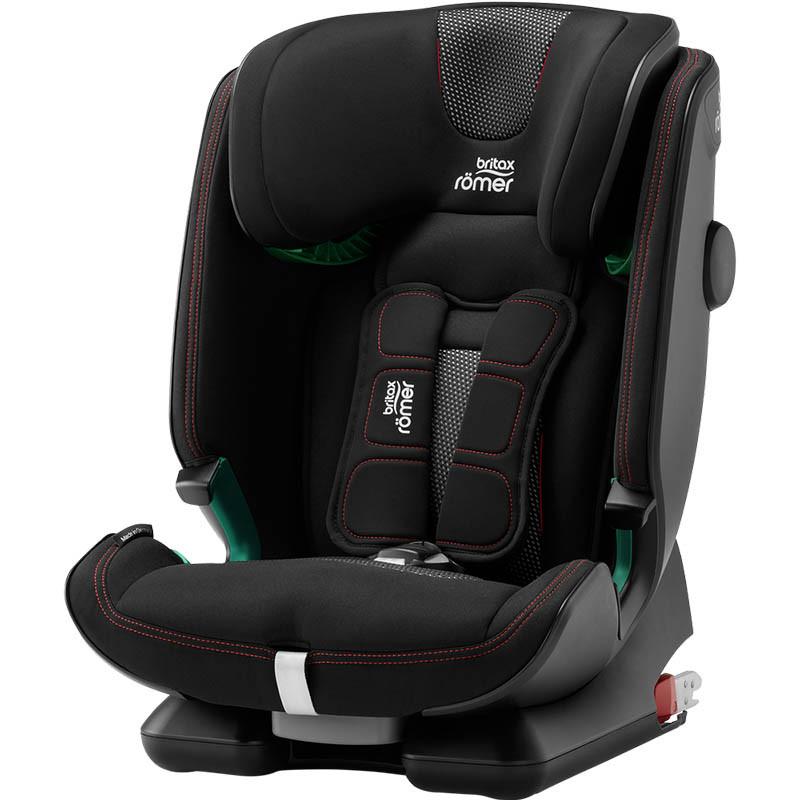 silla de coche advansafix IV i-size britax roemer en el color cool flow black