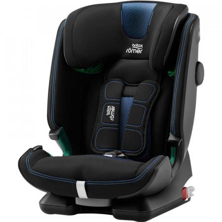 silla de coche advansafix IV i-size britax roemer en el color cool flow blue