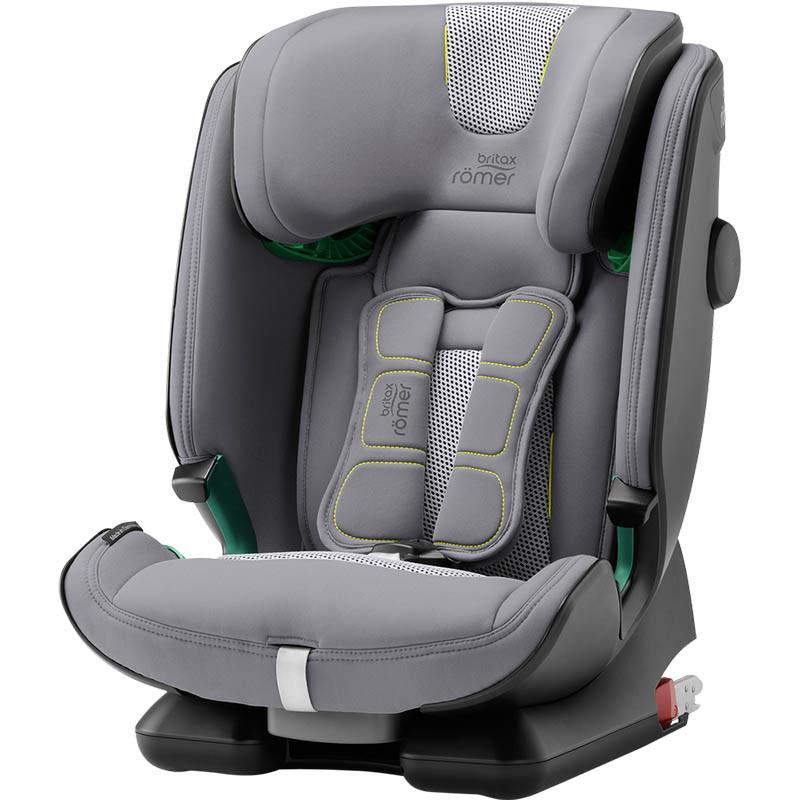 silla de coche advansafix IV i-size britax roemer en el color cool flow silver