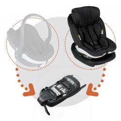 besafe Silla coche izi modular x1 i size con base isofix x1 en el color fresh black cab
