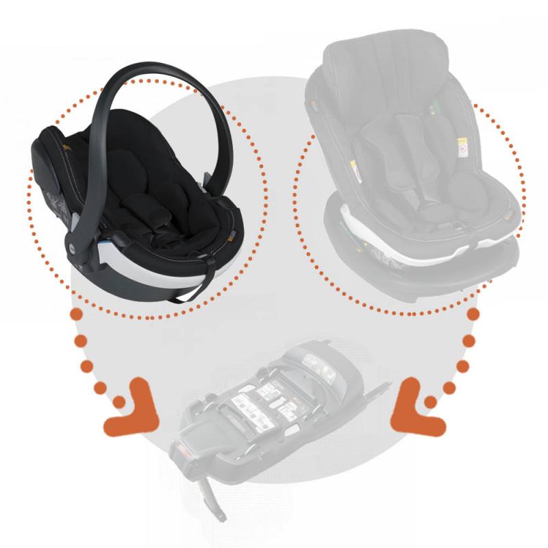 Silla auto izi go modular x 1 i size besafe en el color premium car interior