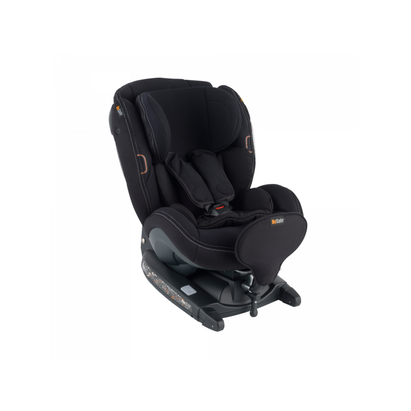 IZI KID X3 I-SIZE BESAFE en el color premium car interior black