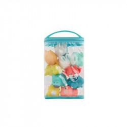 Badabulle set de 10 juguetes rigolo splash mountain