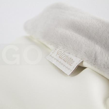 Uzturre Manoplas polipiel exterior blanco interior gris