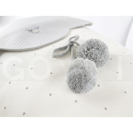 Uzturre Terese Saco capazo 2 usos en color gris