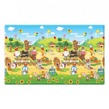 alfombra para juegos musical sound music parade de la marca dwinguler. Doble cara para uso tanto en interiores como exteriores.