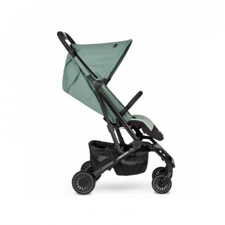 Silla de paseo Buggy XS de Easywalker en color Coral Green. Lateral