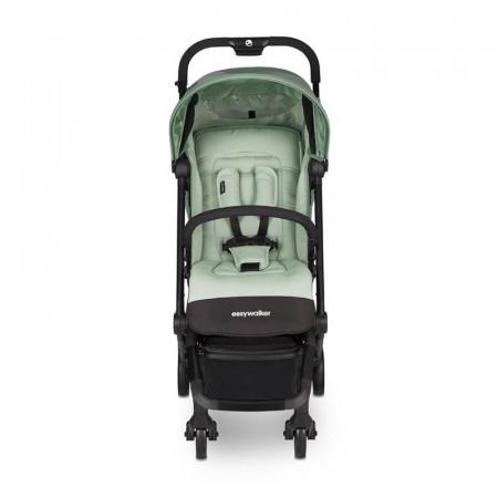 Silla de paseo Buggy XS de Easywalker en color Coral Green. Frontal