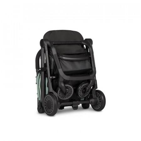 Silla de paseo Buggy XS de Easywalker en color Coral Green. Plegado sencillo.