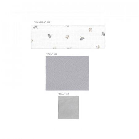 Saco para capazo colección Paola de Uzturre en color gris