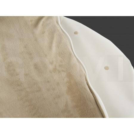 Saco para capazo PBP de uzturre en color piedra