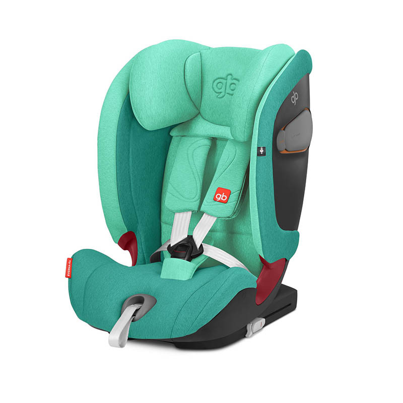 Silla de coche Everna Fix de GB en el color Laguna blue