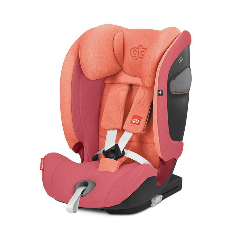 Silla de coche Everna Fix de GB en el color Rose red