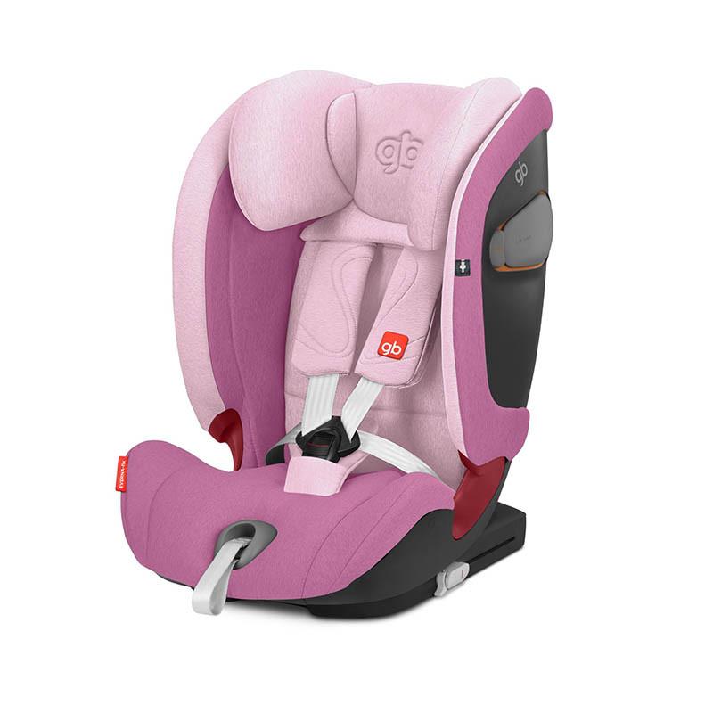 Silla de coche Everna Fix de GB en el color Sweet pink