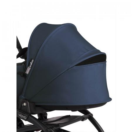 Capazo para YOYO2 de Babyzen en el color navy blue. Detalle