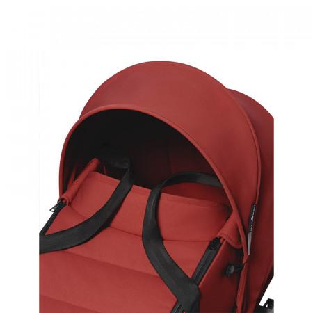 Capazo para YOYO2 de Babyzen en el color rojo. Detalle