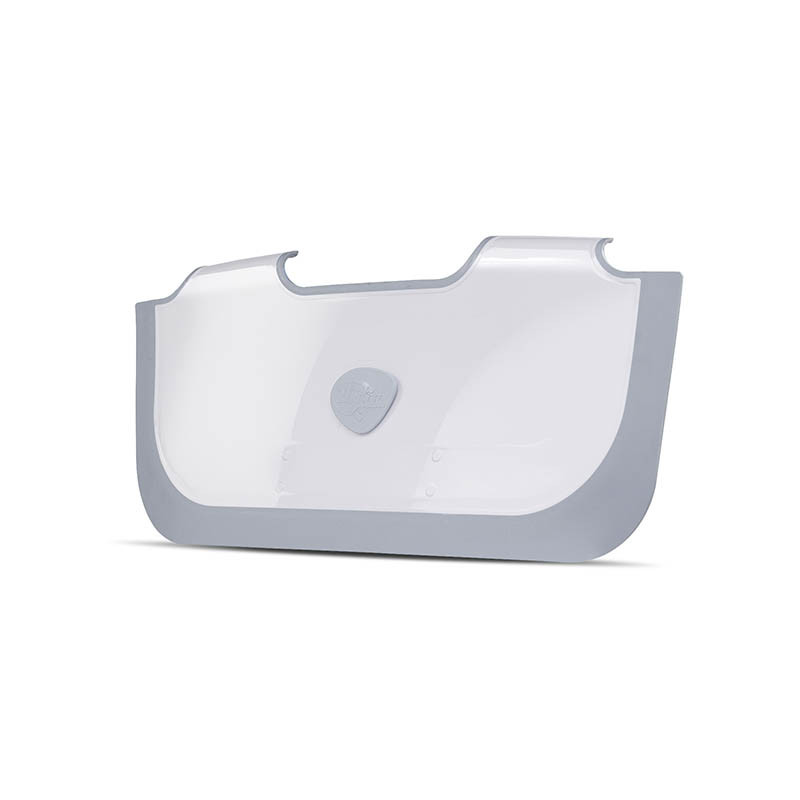 Presa para bañera Bathwater barrier de Babydam en color gris